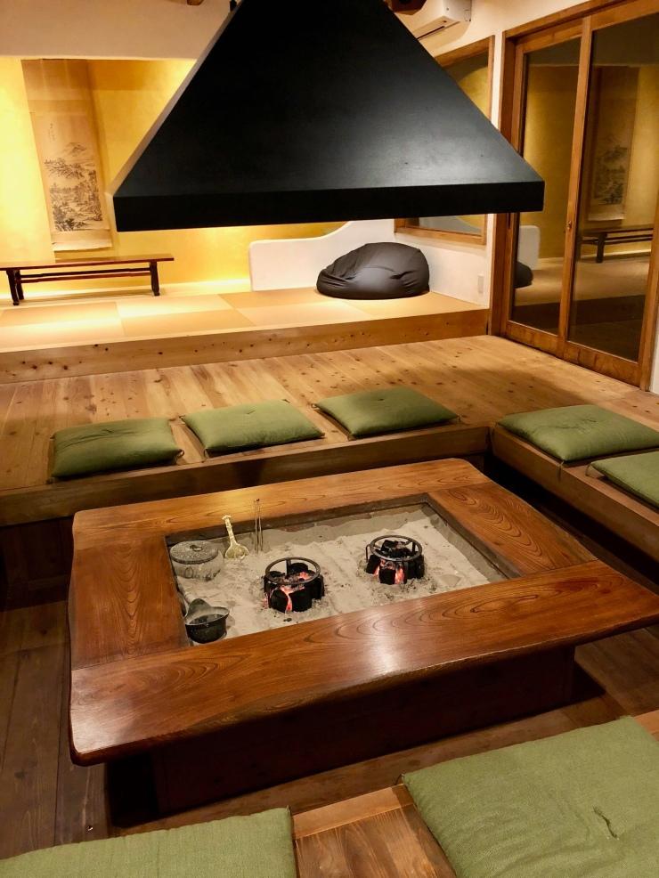 Foyer d'une maison japonaise moderne