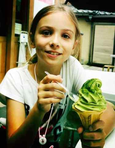 Glace au the vert, j'en mange presque tous les jours !
