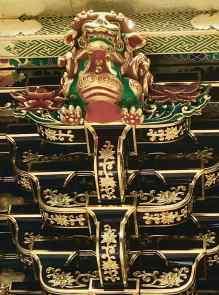 Détail de la Porte du couché de soleil, Tōshō-gū, Nikko