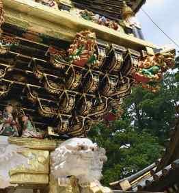 Détail de la porte du Tōshō-gū, Nikko