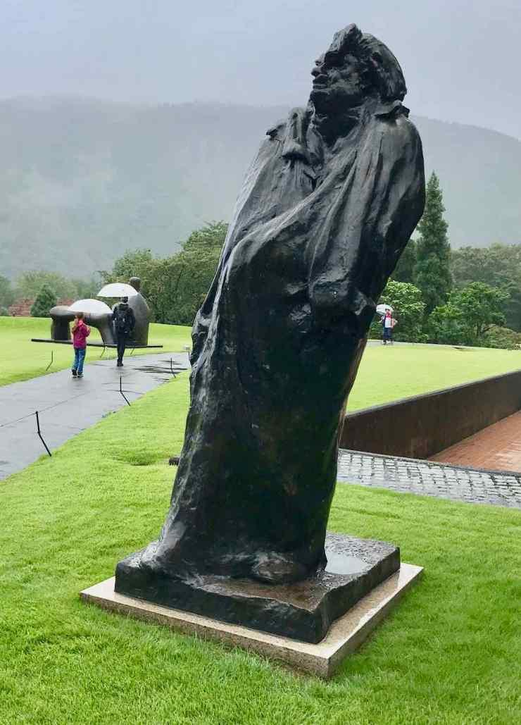 Balzac par Rodin, expatrié au Japon
