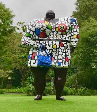Miss Black Power, Nikki de Saint Phalle, Open Air Museum, Hakone