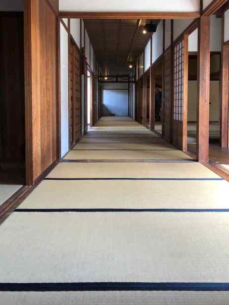 Dédale de tatamis - Maison des Gouverneurs, Takayama