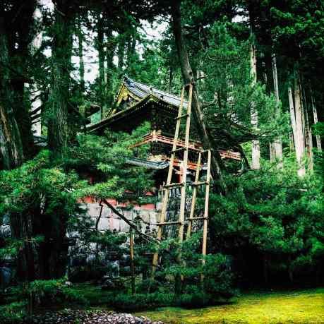 Un bâtiment du Rinnō-ji, Nikko