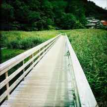 Petit Pont menant aux Hotprings Yumoto