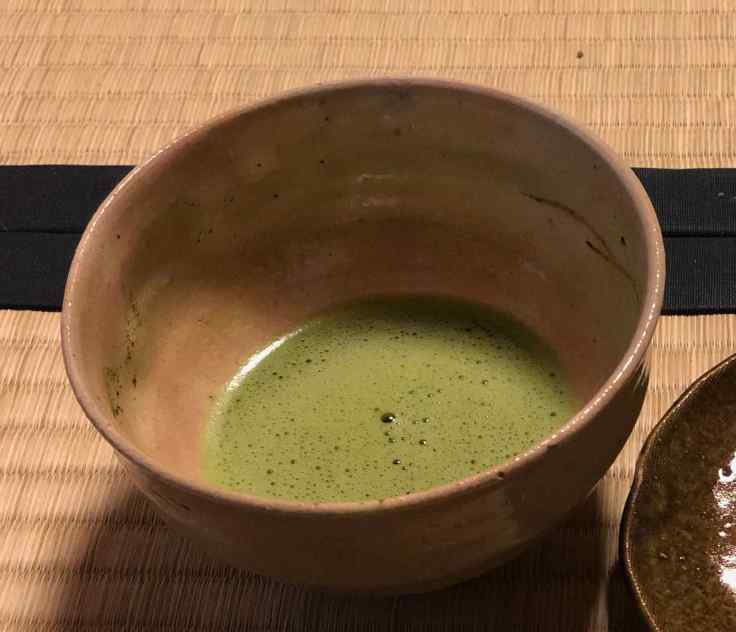 Thé Macha, amer (Cérémonie du thé)