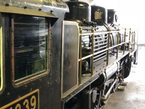 Premiers trains à vapeur
