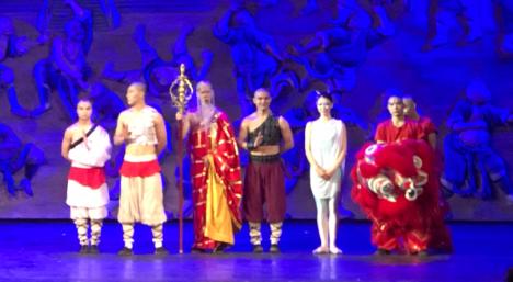 Spectacle de Kun-Fun - Théâtre Rouge - Pékin - Chine