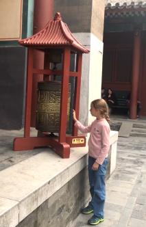 Eden Tourne Moulin a prières - Temple des Lamas - Pekin - Chine
