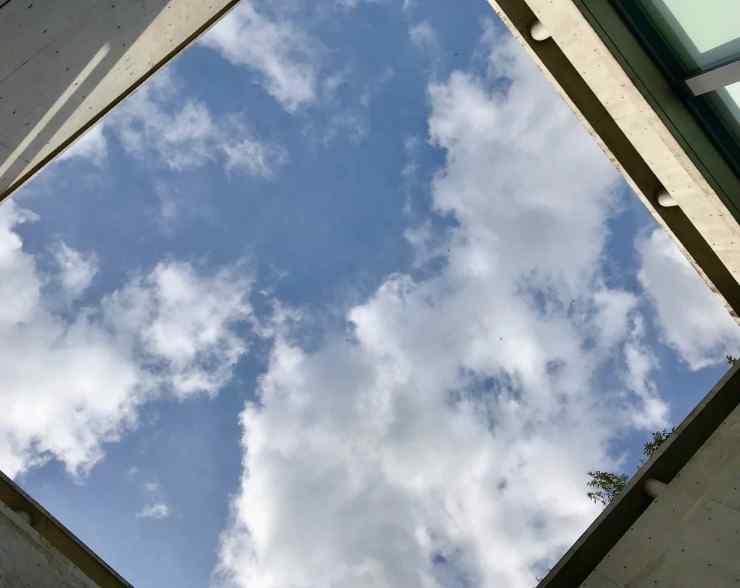 """""""Mon"""" Secret Of The Sky, de Kan Yasuda - Naoshima"""
