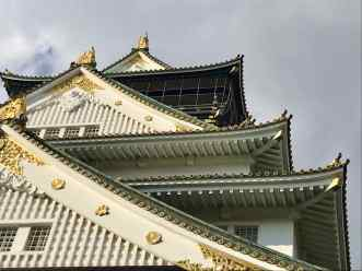 Chateau d'Osaka, détails
