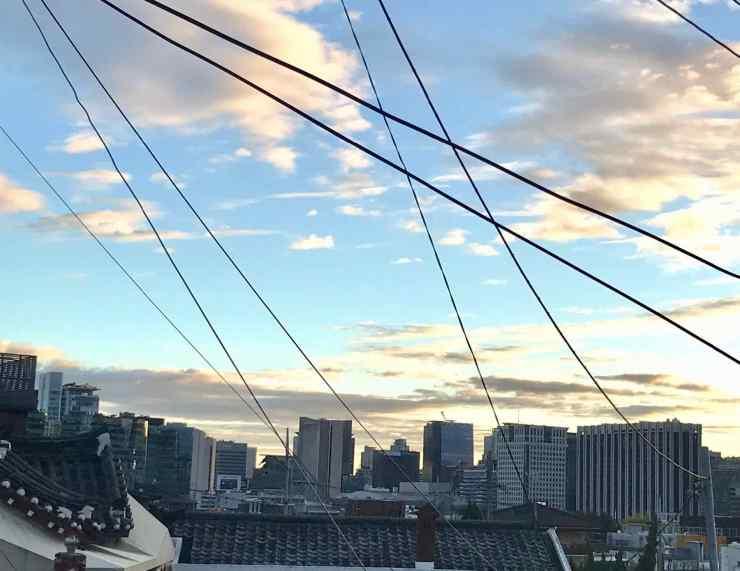 Seoul, vue sur les gratte-ciels