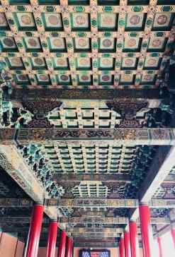 Plafond de Pavillon - Cité Interdite - Pékin - Chine