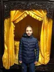 Eden devant une chambre à coucher dans une maison de Hutong - Pekin - Chine
