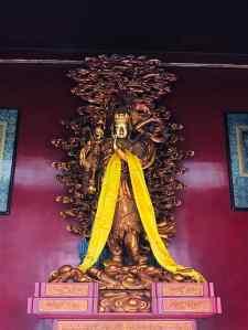 Petit Bouddha doré - Temple des Lamas - Pekin - Chine