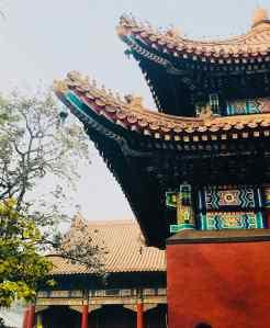 Détail du temple des Lamas - Pékin - Chine