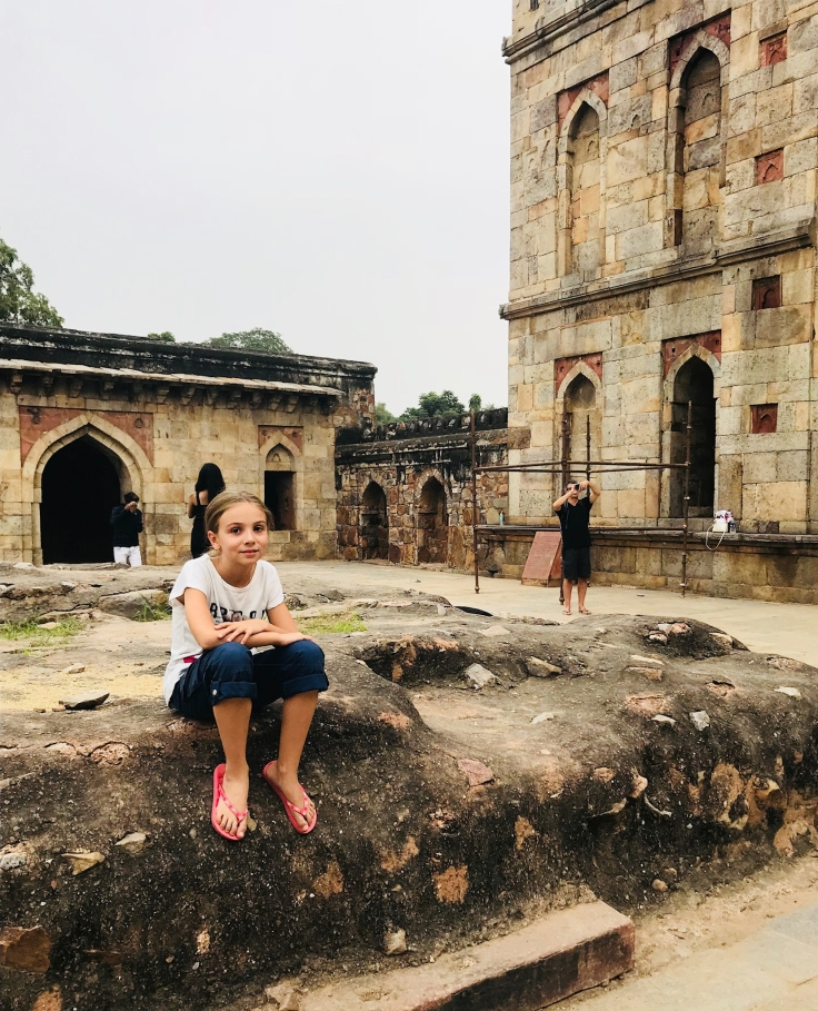Eden prend la pause - Lodi Garden - Delhi - Inde