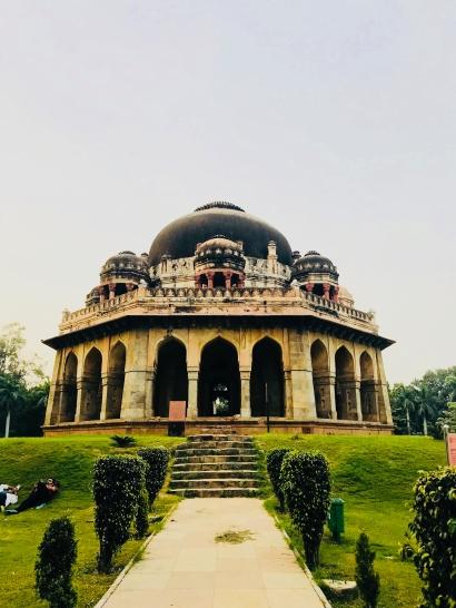 Cenotaphe du XVeme siècle - Lodi Garden - Delhi - Inde