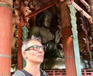 Geoffrey et le grand Bouddha