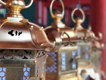 Jeux de lanternes - Sanctuaire Kasuga - Nara