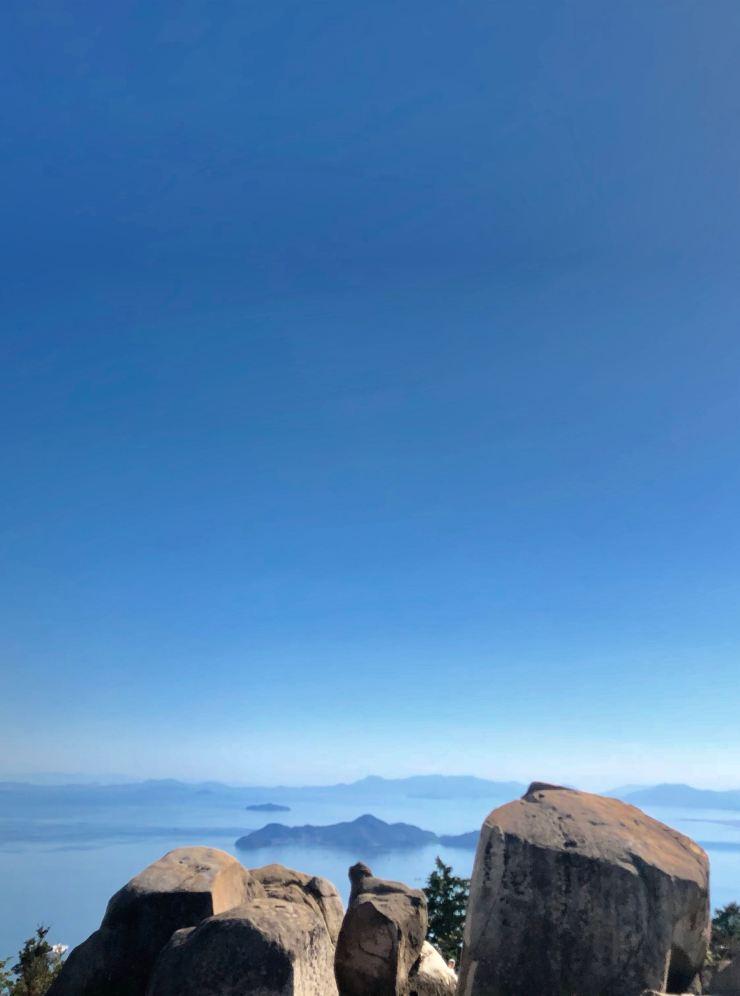 Vue du mont Misen - Miyajima