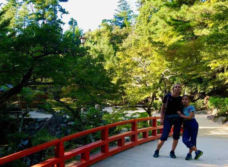 Arrivée en ville après la descente du Mont Misen - Miyajima