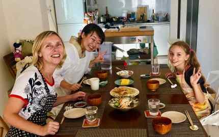 Délicieux repas préparé avec Yoko - Cooking Class - Osaka
