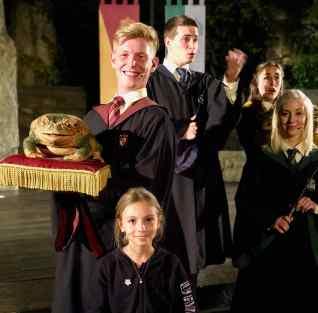 Pose avec les artistes - Harry Potter - Universal Studio Japan