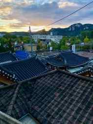 Les toits de Bukchon Hanok Village - Séoul