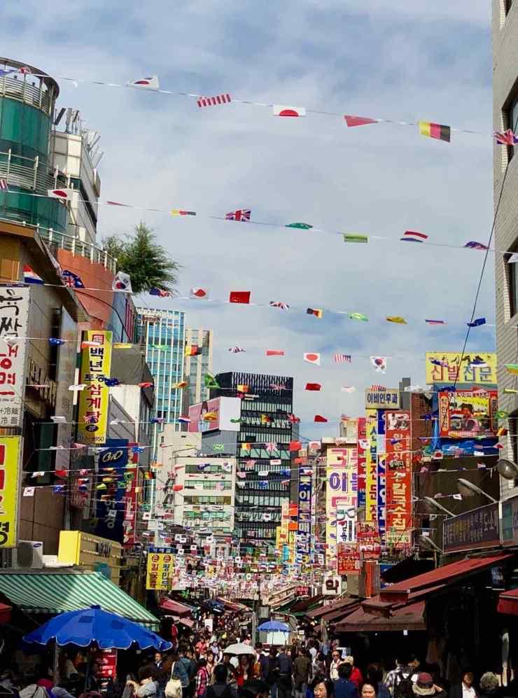 Marché Namdaemun - Seoul