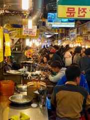 Ruelle couverte où manger - Marché Namdaemun - Seoul