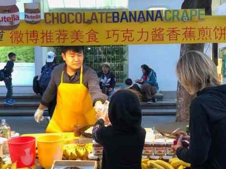 Crêpe banane-choco, une valeur sûre, ouf !