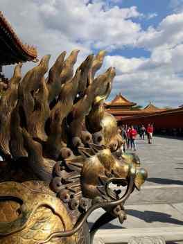 Sculpture - Cité Interdite - Pékin - Chine