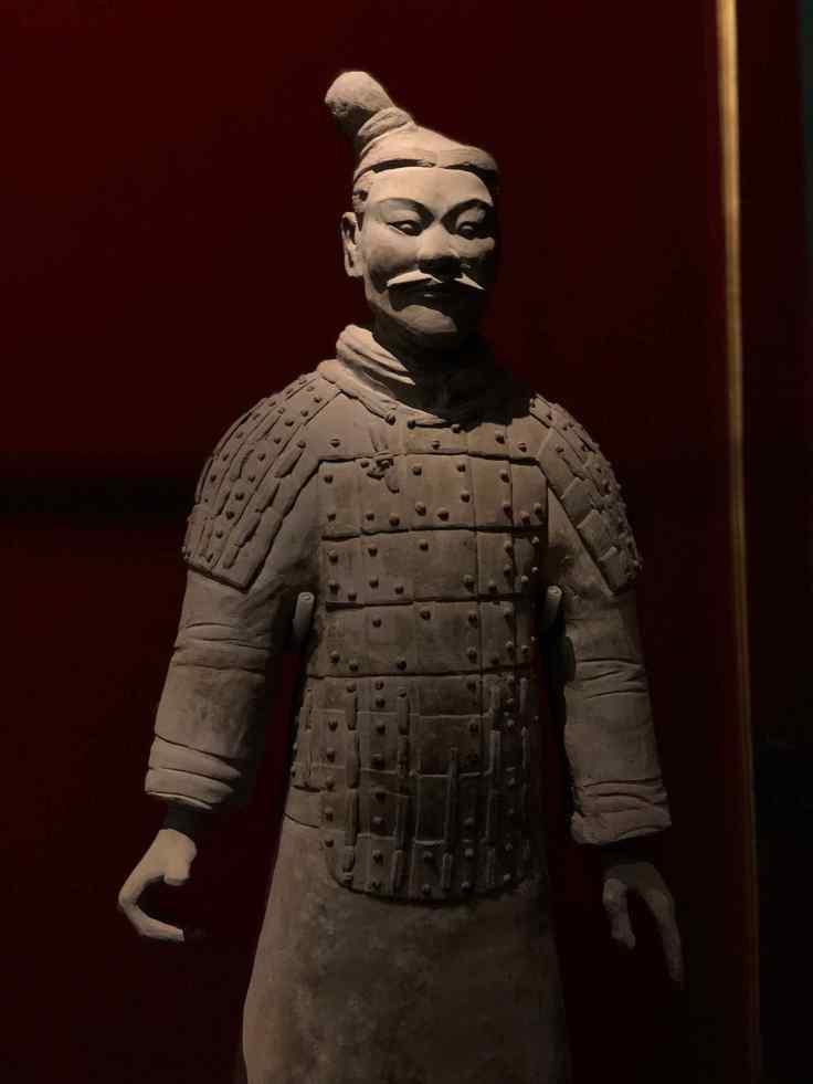 Guerrier Qin ( en terre