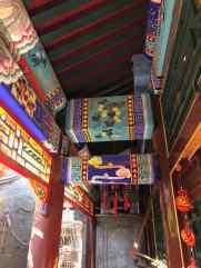 Détail d'une maison dans le Hutong - Pékin - Chine