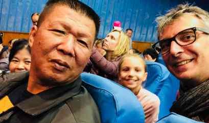 Nous aussi on joue au Selfie - Pekin - Chine