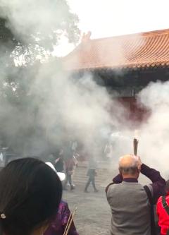 Prières et encens - Temple des Lamas - Pekin - Chine