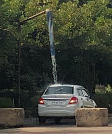 Lavage de voiture à l'Indienne