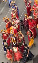 Femmes durant la procession - Bundi - Rajasthan - Inde