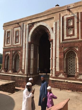 Lieu saint pour les Musulmans - Qutb Minar - Delhi - Inde