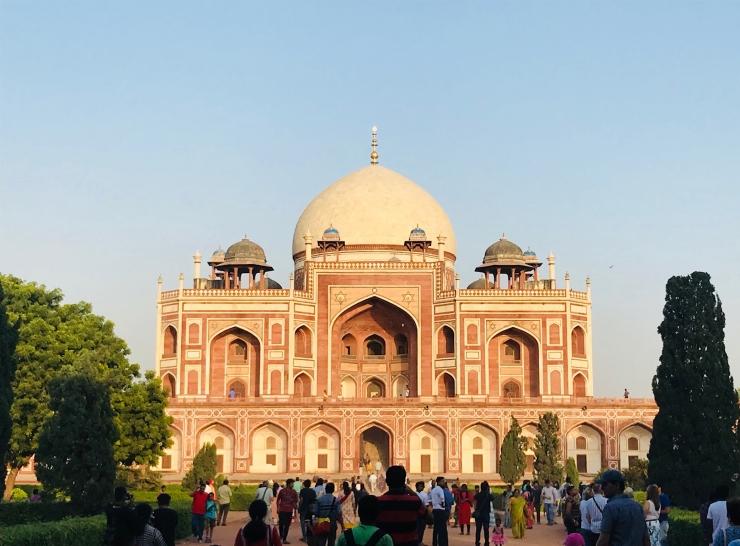 Humayoun Tomb - Delhi - Inde