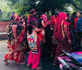 Fete de Navrati - Agra - Inde