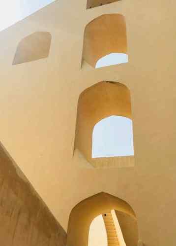 Détail du Cadran Solaire - Jantar Mantar - Jaipur - Rajasthan