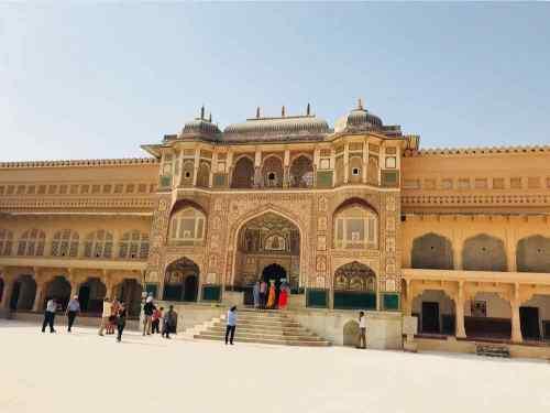 La porte de Ganesh - Amber Palace - Rajasthan - Inde