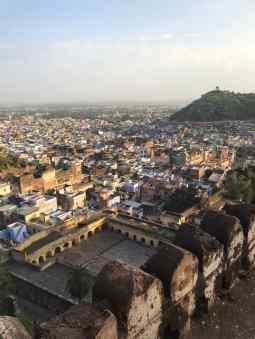 Vue sur la ville depuis le Palais de Bundi - Rajasthan - Inde