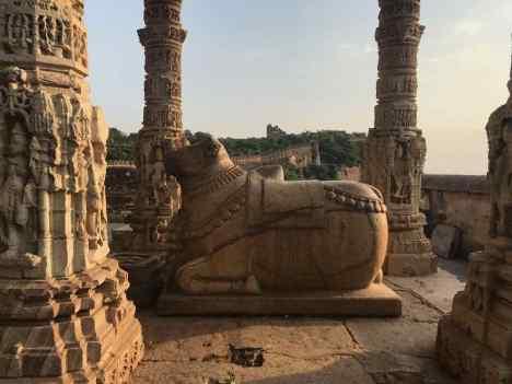 Le Taurau, monture de Shiva - Chittorgarh - Rajasthan - Inde