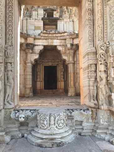 Entrée de temple - Chittorgarh - Rajasthan - Inde