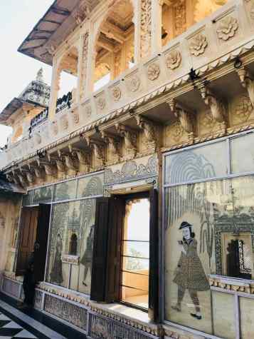 Cour intérieure - City Palace - Udaipur - Rajasthan - Inde