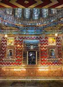 "Salon ""Brillant"" - City Palace - Udaipur - Rajasthan - Inde"