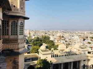 Vue sur Udaipur la Blanche depuis le City Palace - Udaipur - Rajasthan - Inde